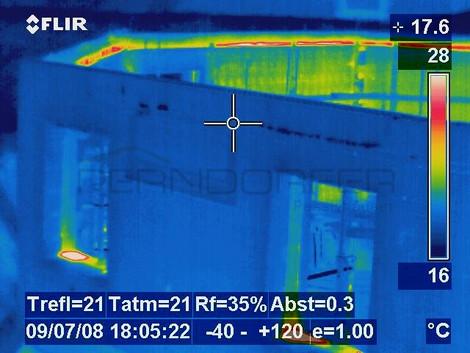 wärmebild passivhaus