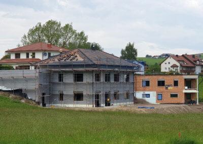 Rohbau Einfamilienhaus mit Thermowerk in Reichenau im Mühlkreis, Oberösterreich